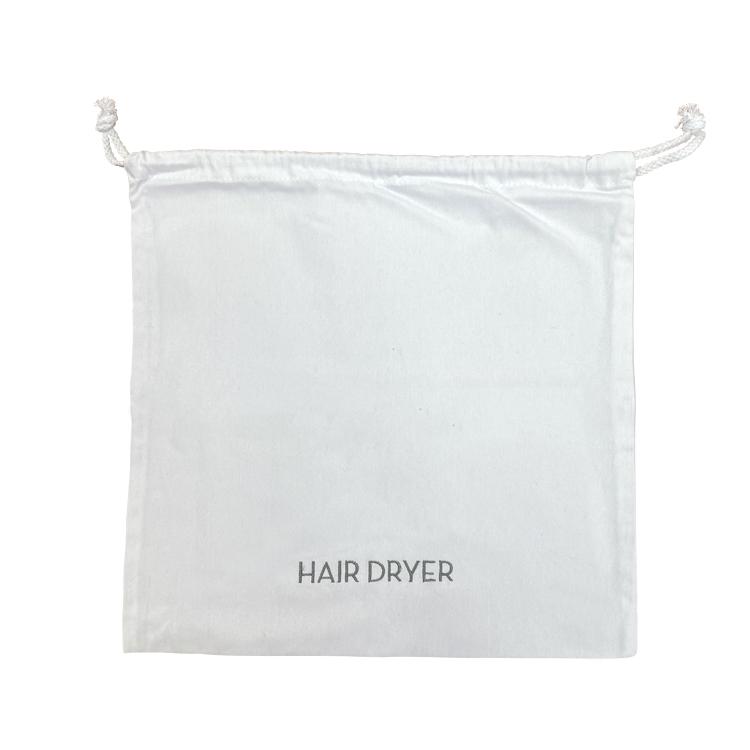 WHITE HAIR DRYER BAG