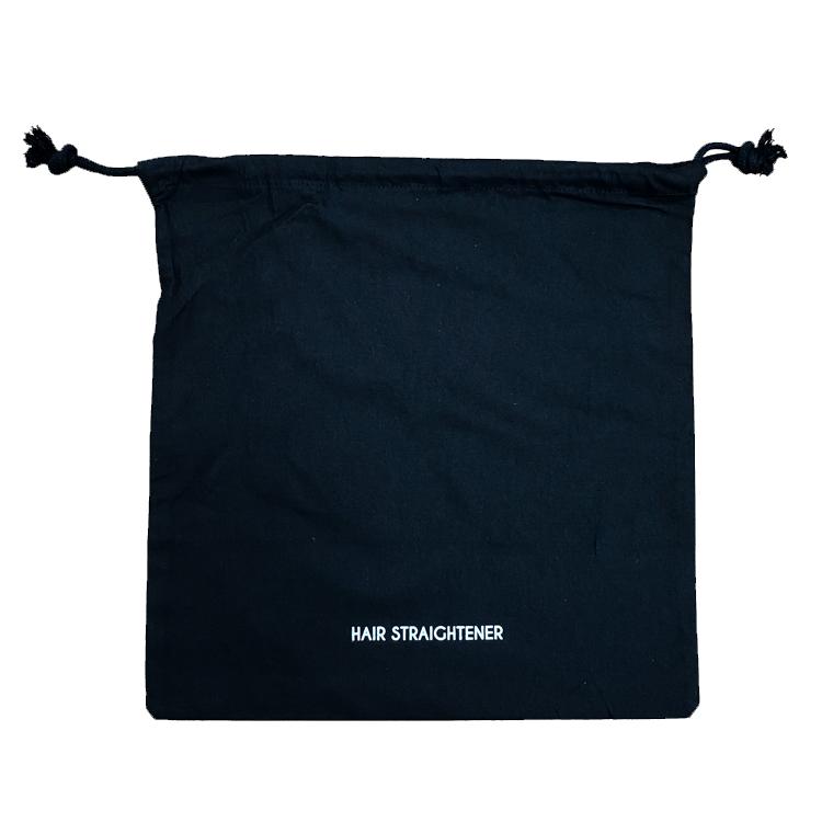 BLACK HAIR STRAIGHTENER BAG
